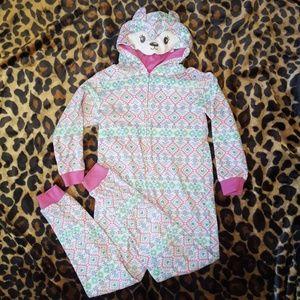 Girl's Aztec Onsie Pajamas